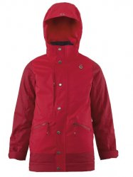 SCOTT - Essential Boy's Jacket - Tango Red/Rio Red - Small - 2015