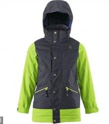SCOTT - Essential Boy's Jacket - Dark Marine Blue/Green - 2015