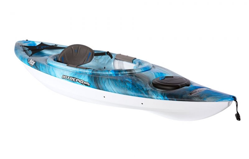 Image 0 of PELICAN - INTREPID 100X KAYAK - MAGENTA - 2017  *** Pickup In-Store Only