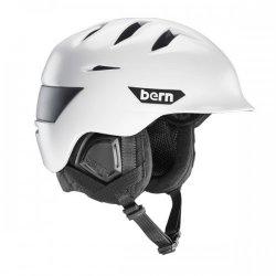 BERN - ROLLINS Helmet - WHITE W/BLACK  , L/XL - 2016