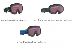 SCOTT - JR WITTY GOGGLE, assorted colors