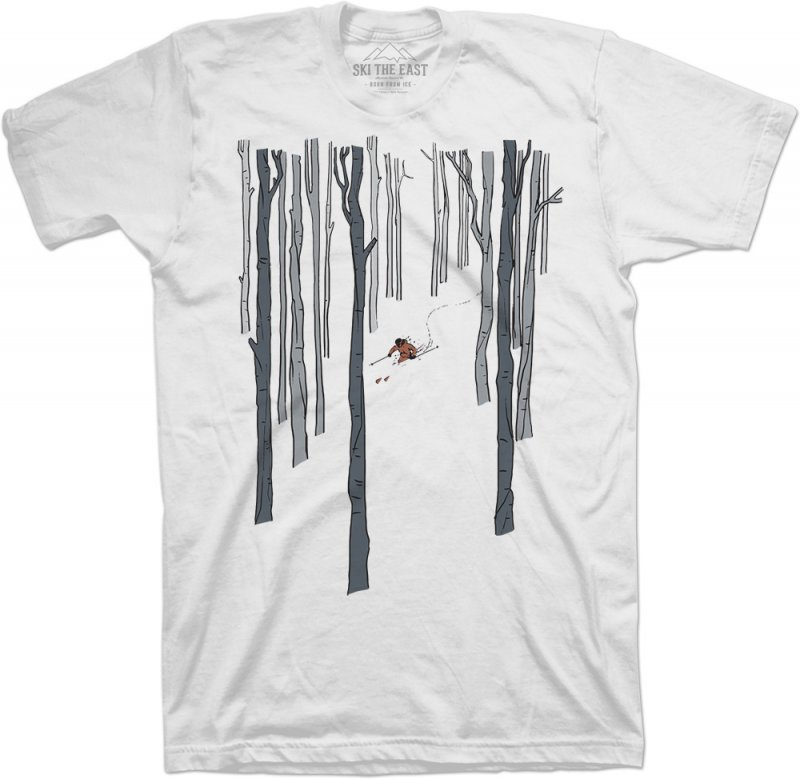 Image 0 of SKI THE EAST - Womens Paradise Tee - White  - 2019