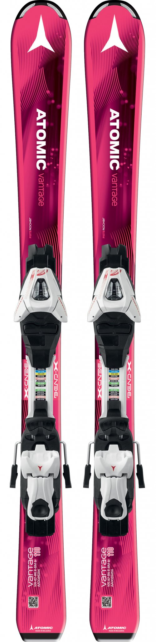 Image 0 of ATOMIC - VANTAGE GIRL II SKIS W/C5 BINDING - 2018
