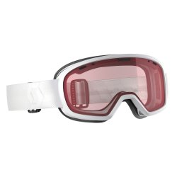 SCOTT -  Muse Goggle, white - enhancer lens