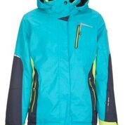 Image 0 of KILLTEC - YAMKA Girl's Jacket w/Hood, Size 14 only, Turquoise - 2019