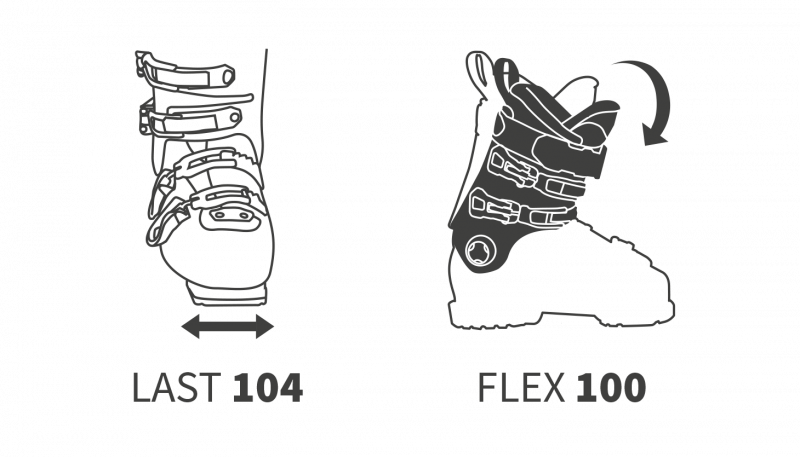 Image 2 of DALBELLO - DS MX 100 Ski Boots  - 2019