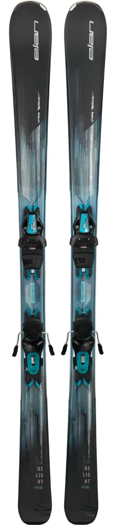 Image 0 of ELAN - DELIGHT PRIME Light Shift Skis W/EL9 GripWalk Binding, 164 cm only -2019