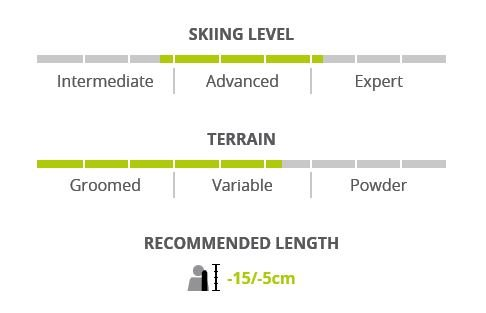 Image 1 of ELAN - DELIGHT PRIME Light Shift Skis W/EL9 GripWalk Binding, 164 cm only -2019
