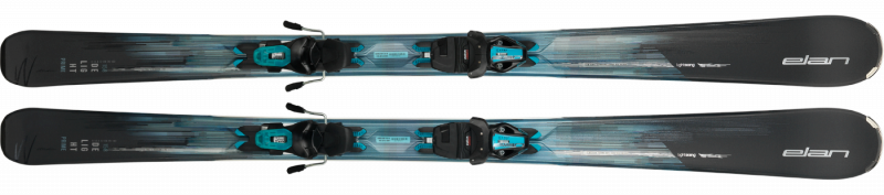 Image 2 of ELAN - DELIGHT PRIME Light Shift Skis W/EL9 GripWalk Binding, 164 cm only -2019