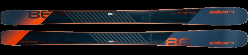 Image 2 of ELAN - RIPSTICK 86 SKIS, 184cm only - 2019