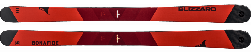 Image 0 of BLIZZARD - BONAFIDE Skis, Size 166 cm only  - 2019