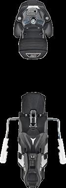 Image 0 of ATOMIC - WARDEN MNC 13 BINDING B100 BLACK - 2020