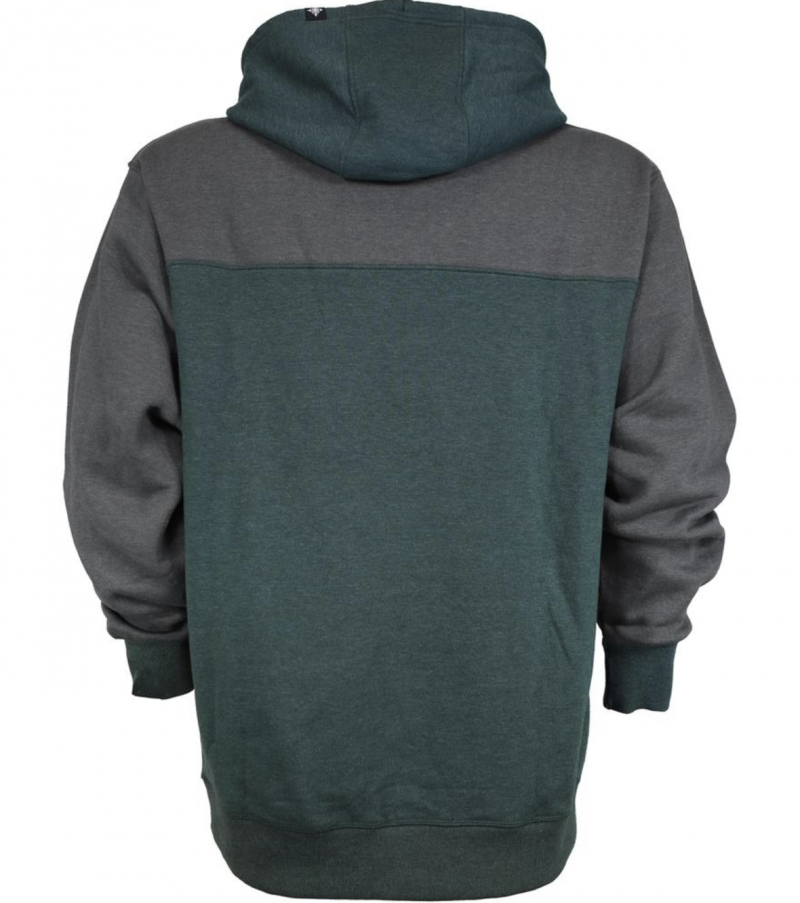 Image 1 of SKI THE EAST - Crawford Pullover Hoodie - Charcoal/Forest 2020