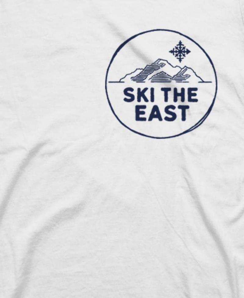 Image 2 of SKI THE EAST - ETERNAL TEE - White 2019