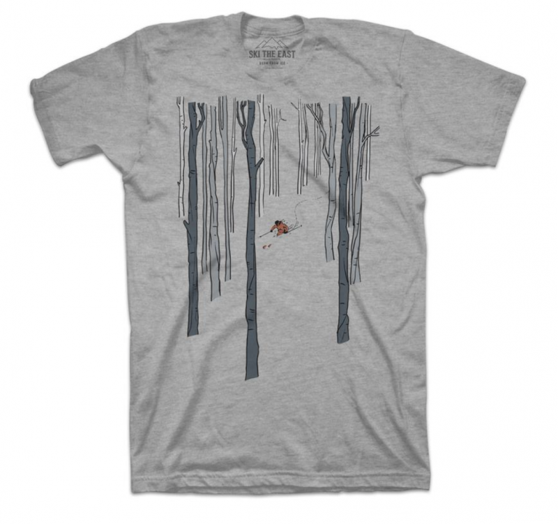 Image 0 of SKI THE EAST - Paradise Tee 2020