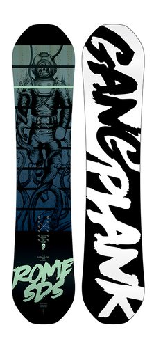 Image 0 of ROME GANG PLANK MINI JUNIOR SNOWBOARD - 2019
