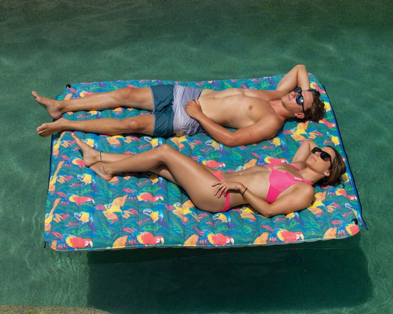 Image 0 of MARGARITAVILLE - Aqua Plank 6'X6' Pool Float - 2019 OBRIEN