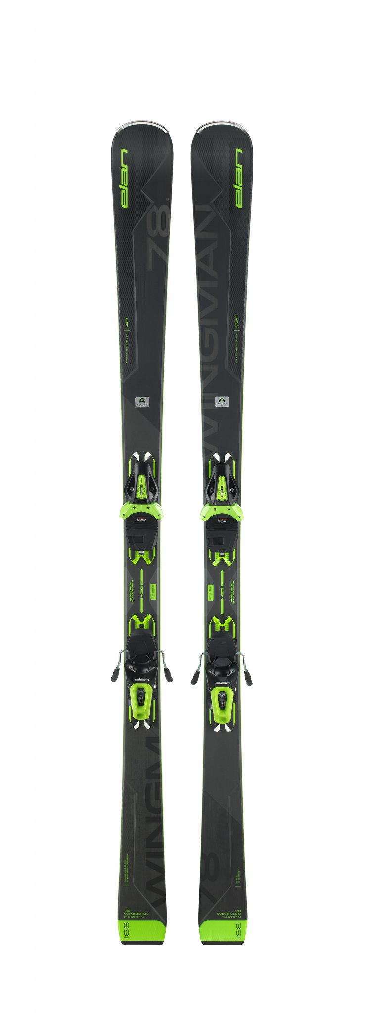 Image 0 of ELAN - WINGMAN 78 C PS Skis + EL 10 GW Binding - 2020
