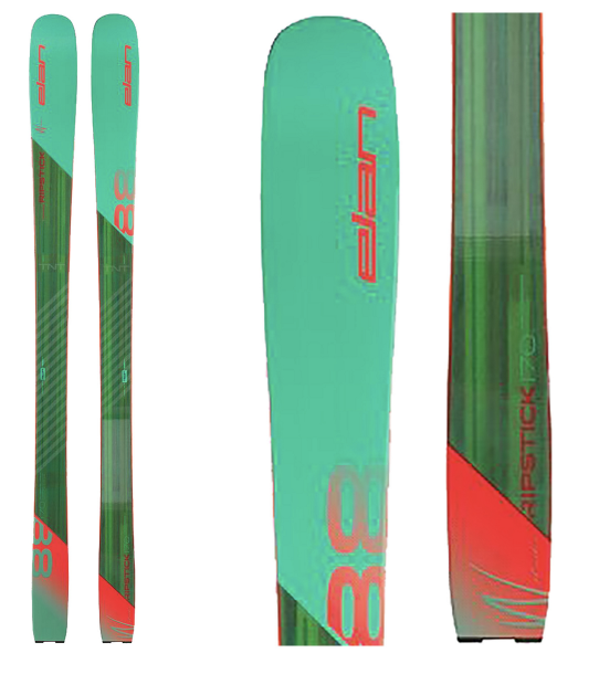 Image 0 of ELAN - RIPSTICK 88 W SKIS, 170cm only - 2020