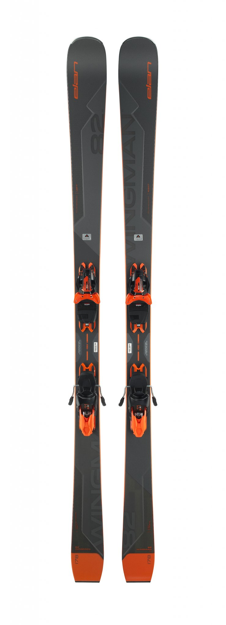 Image 0 of ELAN - WINGMAN 82 TI Skis + ELX 11.0 GW SHIFT Binding - 2021