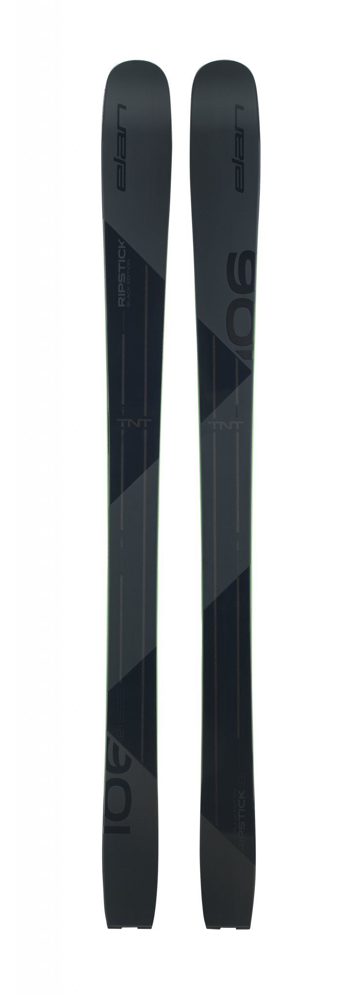 Image 0 of ELAN - RIPSTICK 106  BLACK EDITION SKIS, 174 cm only - 2020