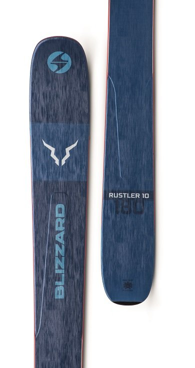 Image 1 of BLIZZARD - RUSTLER 10 (FLAT) SKIS, 172 cm - 2020