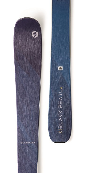 Image 1 of BLIZZARD - BLACK PEARL 88 (FLAT) W  SKIS, 152cm with Griffon 13 ID, Gray - 2020