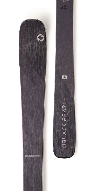 Image 1 of BLIZZARD - BLACK PEARL 78 (FLAT) W SKIS, 163cm only - 2020