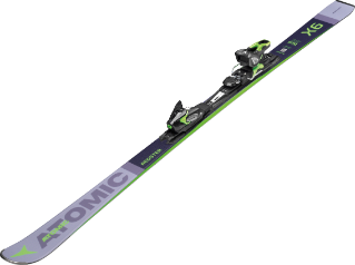 Image 3 of ATOMIC - REDSTER X6 SKIS + FT 11 GW BINDING - 2020