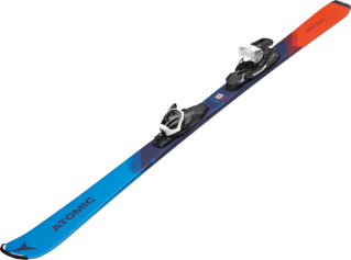 Image 2 of ATOMIC - VANTAGE JR 130-150 SKIS + L 6 GW BINDING - 2020