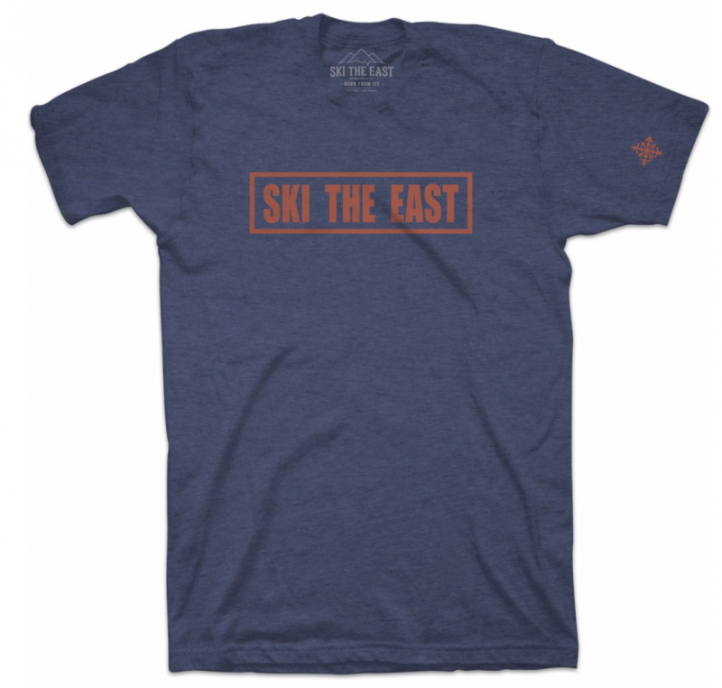 Image 0 of SKI THE EAST - Youth Foundation Tee - Navy 2020