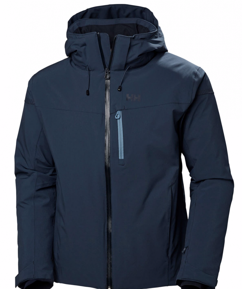 Image 0 of HELLY HANSEN - SWIFT 4.0 SKI JACKET, NORTH SEA BLUE - 2020