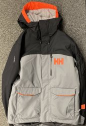 HELLY HANSEN - FERNIE 2.0 SKI JACKET, QUIET SHADE - 2020