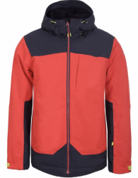 ICEPEAK - CARBON SKI JACKET MENS, CORAL RED - 2020