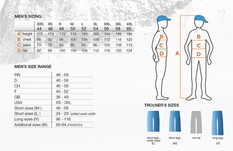 Image 1 of ICEPEAK - CARVER SKI JACKET MENS, NAVY/ORANGE