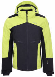ICEPEAK - FATE SKI JACKET MENS, ALOE (YELLOW)/BLACK - 2020