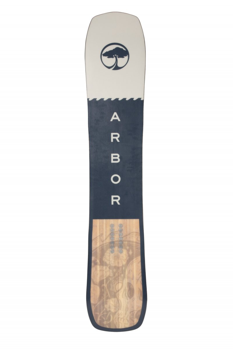 Image 2 of ARBOR - CROSSCUT CAMBER SNOWBOARD, 162 CM ONLY - 2021