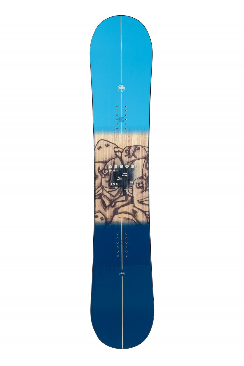 Image 0 of ARBOR - RELAPSE CAMBER SNOWBOARD By Erik Leon, 150 cm ONLY - 2021