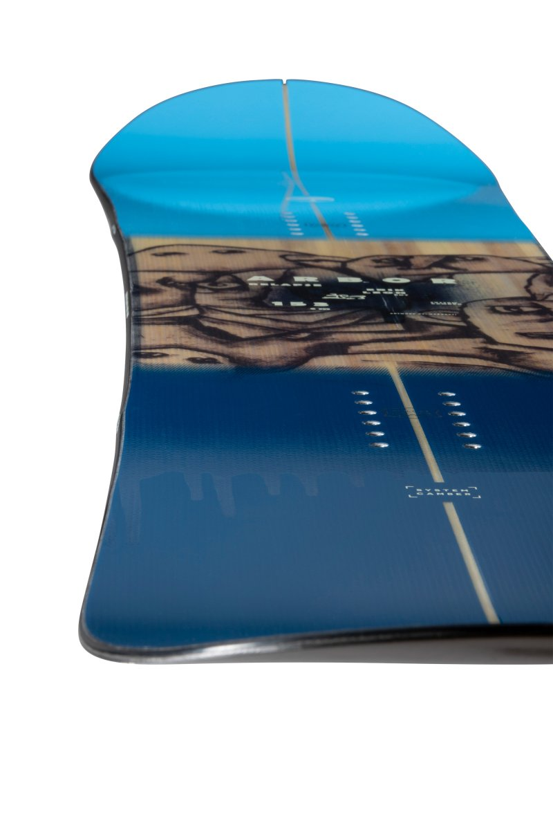 Image 3 of ARBOR - RELAPSE CAMBER SNOWBOARD By Erik Leon, 150 cm ONLY - 2021