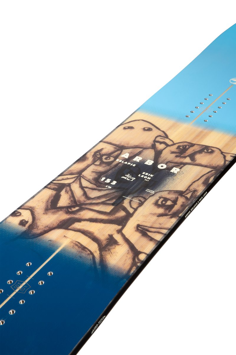 Image 5 of ARBOR - RELAPSE CAMBER SNOWBOARD By Erik Leon, 150 cm ONLY - 2021
