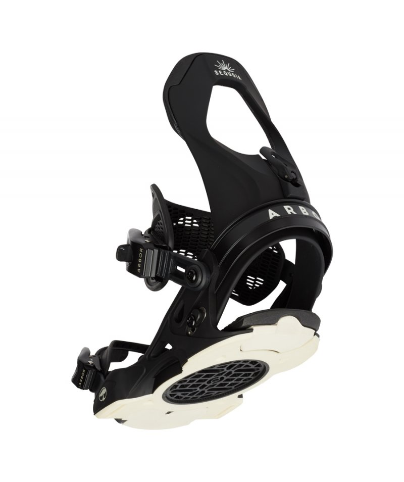 Image 0 of ARBOR - SEQUOIA BLACK SNOWBOARD BINDING - 2021