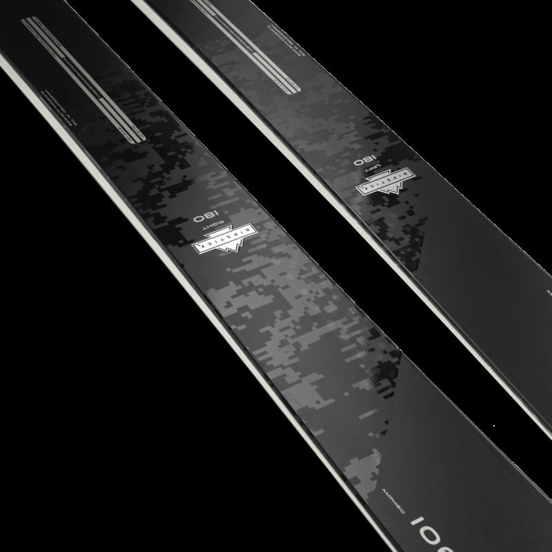 Image 3 of ELAN - RIPSTICK 106 BLACK EDITION SKIS - 2022
