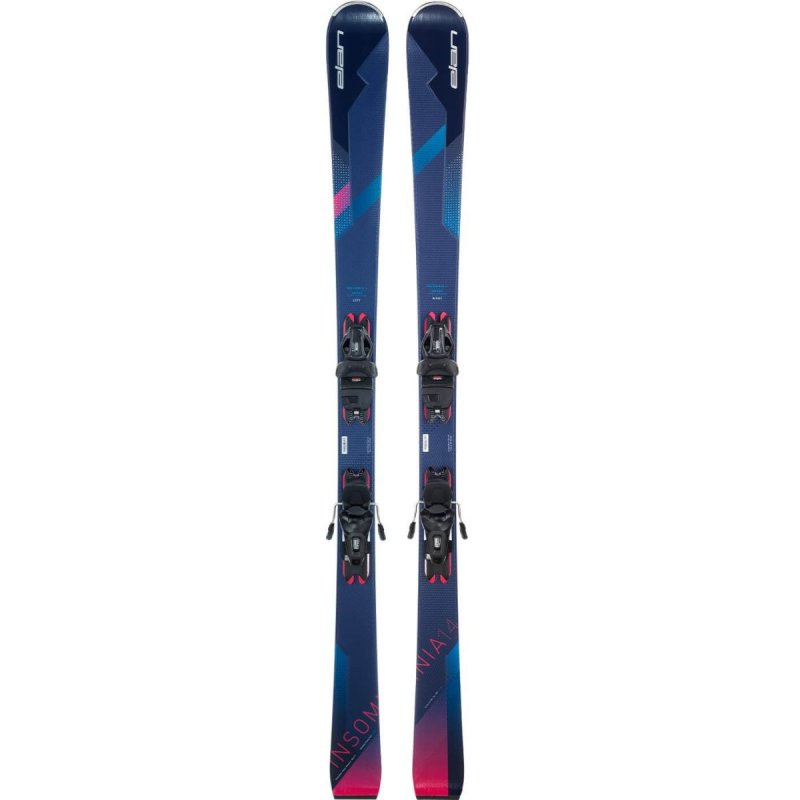 Image 2 of ELAN - INSOMNIA 14 TI SKIS, 158cm only + ELW9 GW BINDINGS - 2021