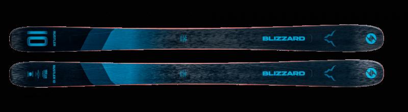 Image 2 of BLIZZARD - RUSTLER 10 (FLAT) SKIS - 2021