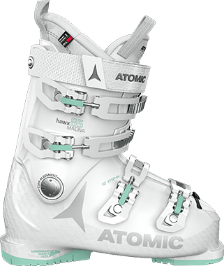 Image 0 of ATOMIC - HAWX MAGNA 85 WOMENS WHITE/MINT BOOTS - 2021