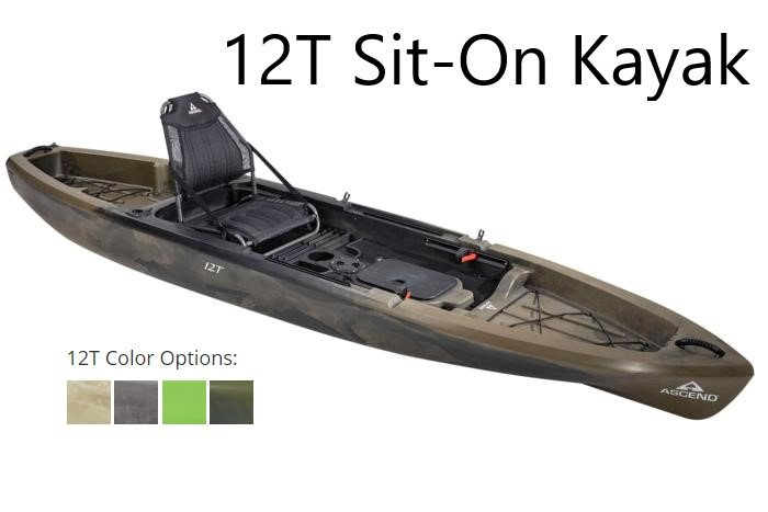 Image 0 of ASCEND - 12T SIT--ON-TOP KAYAK