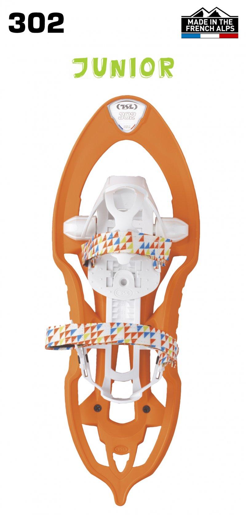 Image 0 of TSL - 302 FREEZE KIDS COMPOSITE SNOWSHOES - SPICY ORANGE