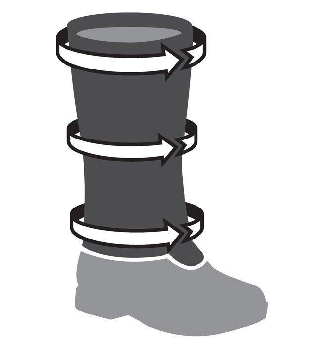Image 1 of TSL - TREK GAITERS