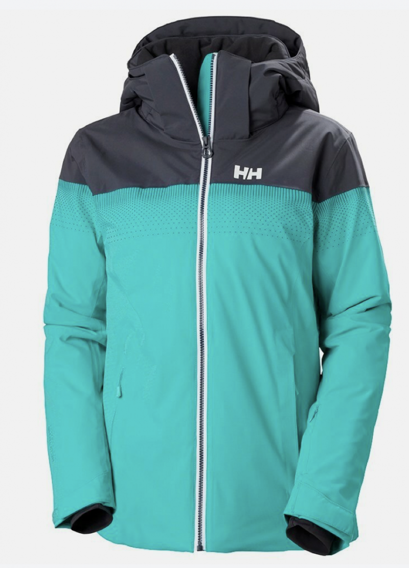 Image 0 of HELLY HANSEN - W MOTIONISTA LIFALOFT JACKET TURQUOISE, XL Only