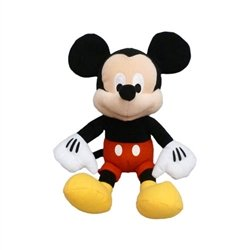 Disney Mickey Mouse Stuffed Plush Toys, 11 Soft Toddler Toy